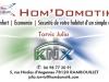 GADéCIEL : Carte de visite (RECTO) - Hom' Domotik