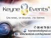 GADéCIEL : Carte de visite (RECTO) - Keyne Events